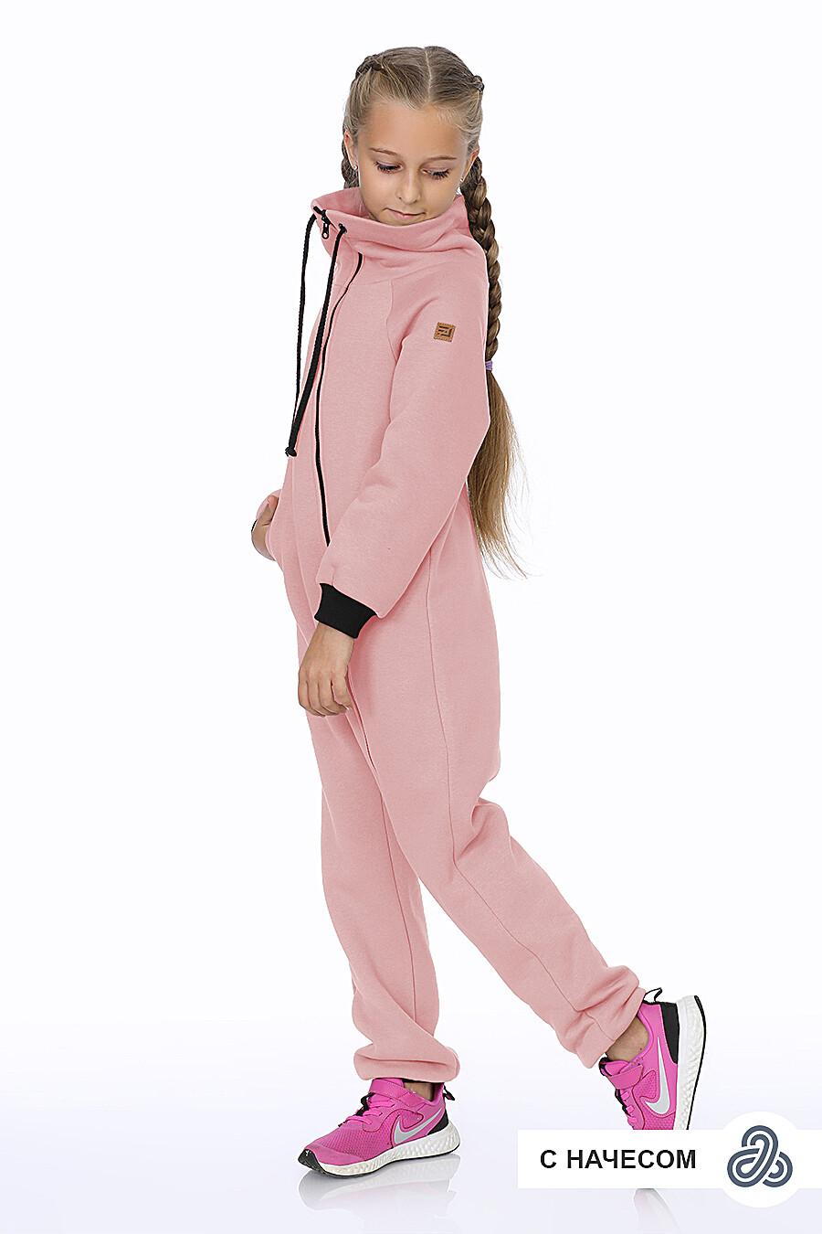 Комбинезон для девочек EZANNA 707496 купить оптом от производителя. Совместная покупка детской одежды в OptMoyo