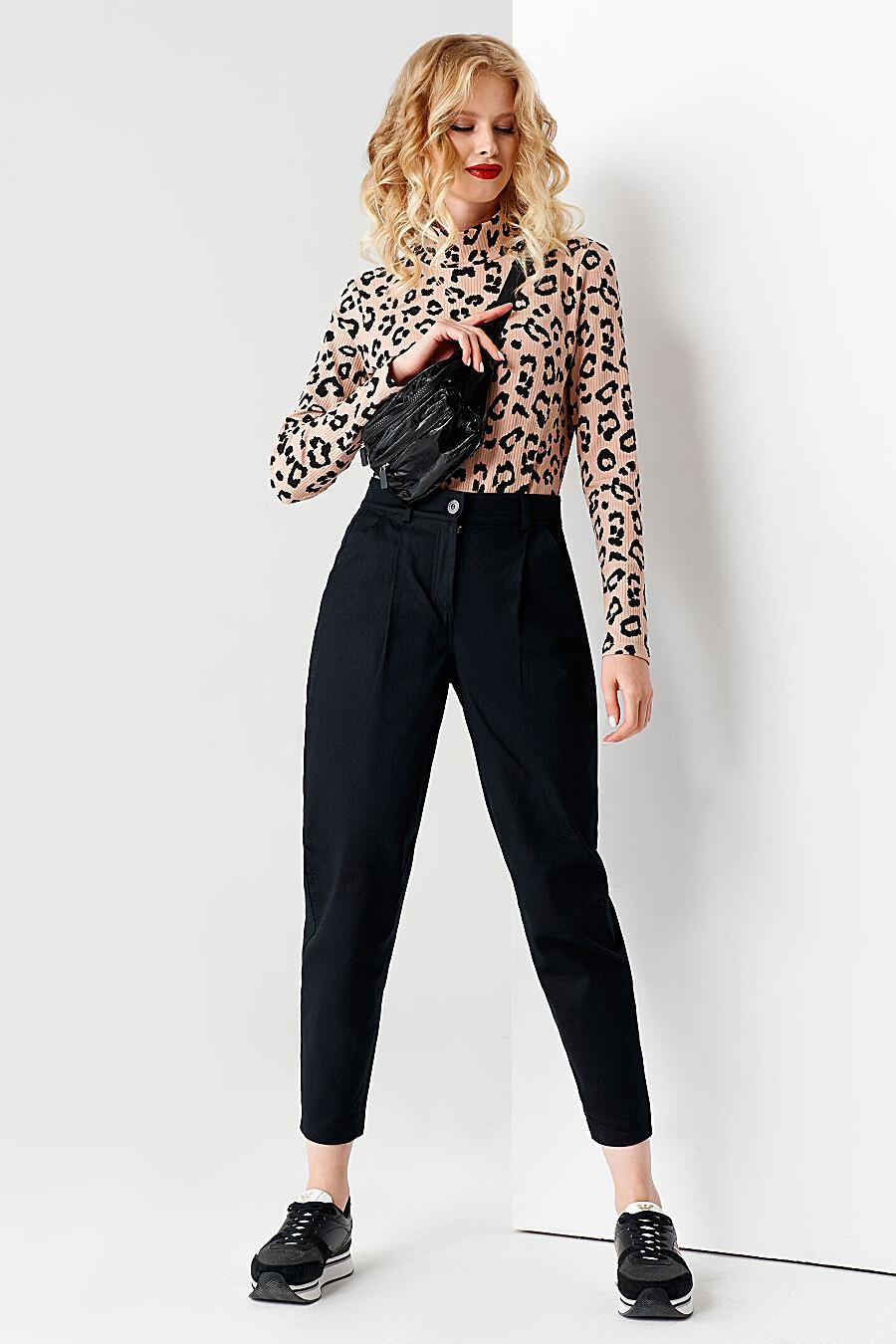 Брюки для женщин PANDA 707637 купить оптом от производителя. Совместная покупка женской одежды в OptMoyo
