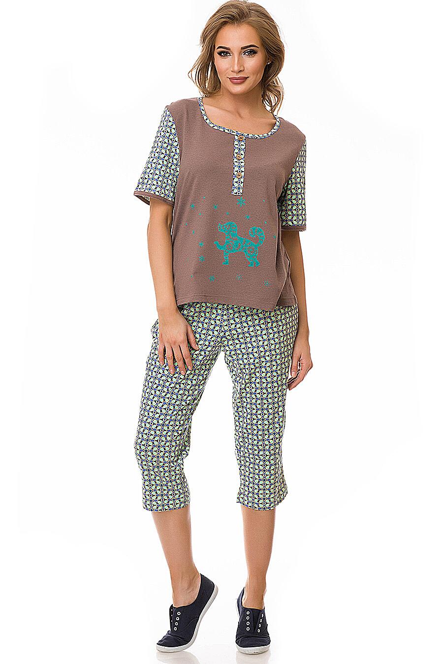 Костюм (блуза+бриджи) #78195